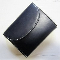whitehouse cox ホワイトハウスコックス [small 3 fold wallet][s1058][navy]