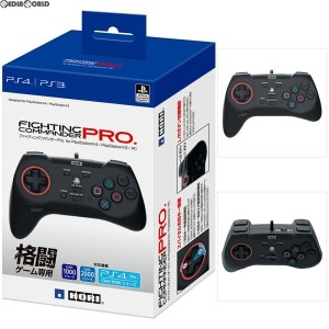 【新品即納】[ACC][PS4]ファイティングコマンダーPro(プロ) for PlayStation4/PlayStation3/PC HORI(PS4-070)(20170601)