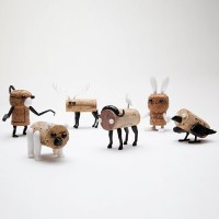 Corkers Animal Pack (6) by monkey business design