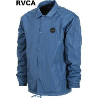 RVCA Va All the Way Coach Jacket Dark Denim S コーチジャケット