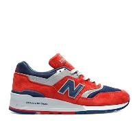 (ニューバランス) 【US 7.5 】 new balance m997 made in usa connoisseur ski US7.5 red/navy/grey メンズ ユニセックス...