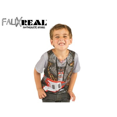 ☆Faux Real【フォーリアル】Toddler Rockstar ロックスター 13485 [仮装 コスプレ 子供服 誕生日 ギフト] 10P05Oct15