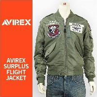 AVIREX アビレックス L-2 USAFA パッチ AVIREX L-2 U.S.A.F.A. PATCHED 6172111-73 【フライトジャケット・ミリタリー・ワッペン・送料無料】
