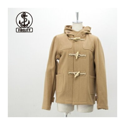 【FW】フィデリティ レディース 24oz SHORT DUFFLE COAT jute & wood toggles[24030LA]