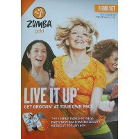 SALE OFF!新品DVD!Zumba Gold: Live It Up! ズンバ