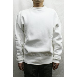 キャンバー(CAMBER)#234 Cross-Knit Crew Neck Sweat(COLOR : WHITE)【05P06Aug16】【MFS0301】