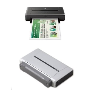 Canon PIXMA iP110 Wireless Mobile Printer With Airprint(TM) And Cloud Compatible and Canon LK-62...
