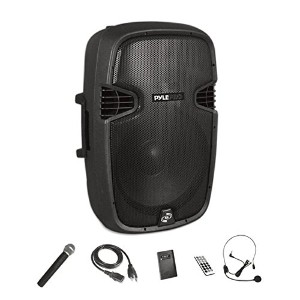 Pyle 1200 ワット Wireless and Portable ブルートゥース Loudspeaker - アクティブ PA スピーカー System キット with Wireless...