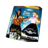 Barbie バービー Loves Elvis Collector Edition Gift Set (1996)
