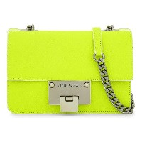 ジミー チュウ jimmy choo レディース バッグ ショルダーバッグ【rebel soft mini fluorescent leather cross-body bag】Shocking...