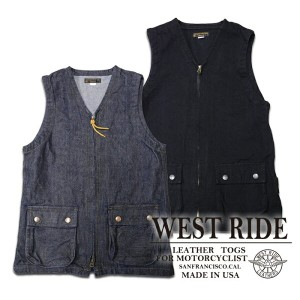 【WESTRIDE ウエストライド】ベスト/BUY BACK VEST ★送料・代引き手数料無料!REAL DEAL