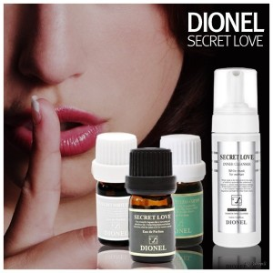 DIONEL Secret Love Feminine Perfume Cleanser Natural Aroma Fragrance Scent 5mlKorea Made