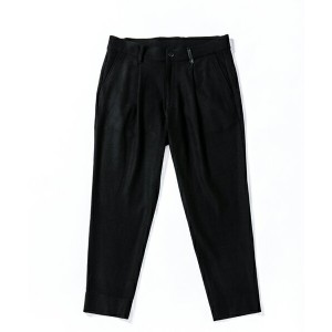 【ACANTHUS(アカンサス)】JKP1705-one tuck tapered pants パンツ