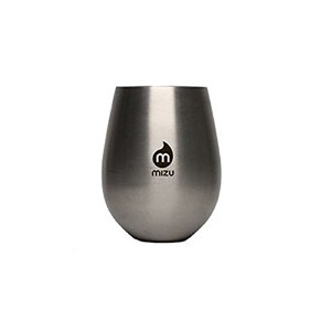 (ミズ)mizu ボトル mizuボトル Wine Cup Mizu Wine Cup Set 2個 1SET Stainless w Black Pri...