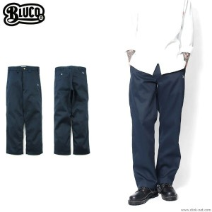 【BLUCO/ブルコ】BLUCO STANDARD WORK PANTS (NAVY) [OL-004]
