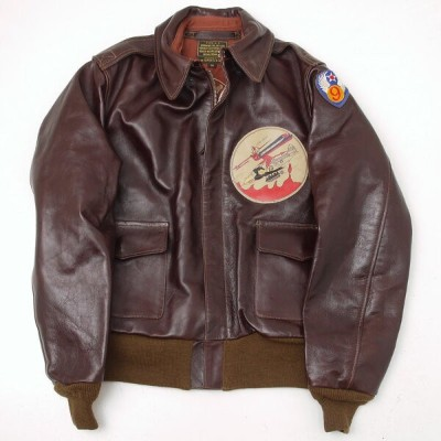 """BUZZ RICKSON'S バズリクソンズ BR80423-01 A-2 No.23380 ROUGHWEAR CLOTHING CO. """"365th FIGHTER GROUP"""" 38(M)"""