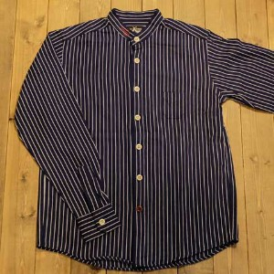 "DRESS HIPPY""ANCHOR L/S SHIRT""NAVY【DRESS HIPPY】(ドレスヒッピー)正規取扱店(Official Dealer)Cannon Ball(キャノンボール)..."