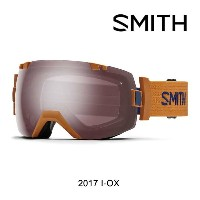 2017 SMITH スミス ゴーグル GOGGLE I/OX CARGO/IGNITOR MIRROR+BLUE SENSOR MIRROR ASIAN FIT