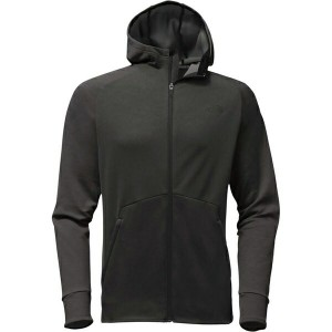ノースフェイス メンズ パーカー&スウェット アウター The North Face Versitas Full-Zip Hoodie - Men's Tnf Dark Grey Heather