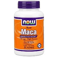 海外直送品Now Foods Maca, 90 Vcaps 750 mg(Pack of 4)