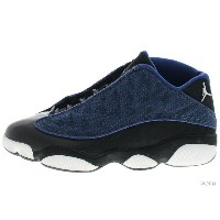 "【US8.5】AIR JORDAN 13 LOW ""1998"" 136008-441 navy/m silv-blk-carolina blue エア ジョーダン 未使用品【中古】"