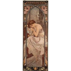 Cross Stitch Collectibles(CSC) - Mucha(ミュシャ)- Night`s Rest クロスステッチ キット