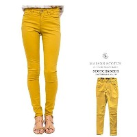 MAISON SCOTCH 【 スコッチ&ソーダ★メゾンスコッチ 】Mid rise skinny fitスキニー カラーパンツCOLOR:44【 YELLOW 】イエロー
