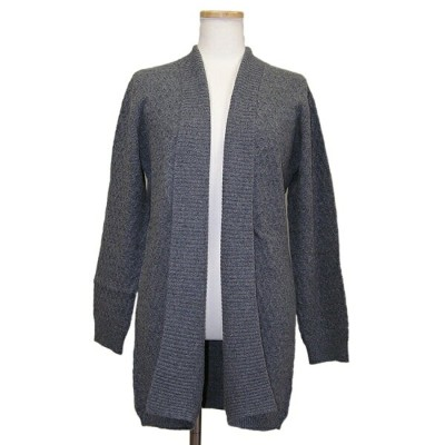 【OUTLET】100G017 カシミヤ100%ロングカーディガン カシミヤ カーディガン
