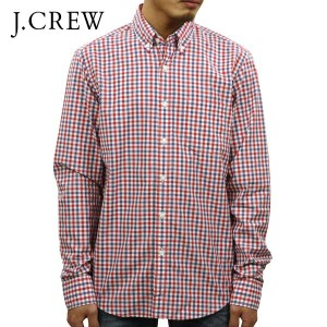 【15%OFFセール 3/3 19:00~3/8 1:59】 ジェイクルー J.CREW 正規品 メンズ 長袖シャツ PATTERNED WASHED SHIRT e5677