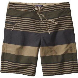 パタゴニア メンズ 水着 水着 Patagonia Printed Wavefarer Board Short - Men's Fitz Stripe/Basin Green