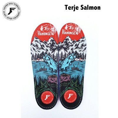 FOOTPRINT INSOLE GAME CHANGERS Terje salmon フットプリント インソール テリエ 熱成形 中敷 スケートボード スノーボード