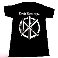 /DEAD KENNEDYS デッドケネディーズDISTRESSED OLD ENGLISH LOGO FITTED JERSEY TEE オフィシャル バンドTシャツ【2枚までメール便対応可】...