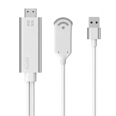 【PCATEC】 HDMI WiFiディスプレイ iOS、Android、 Windows、MAC OSシステム通用HDMI 変換 ケーブル HDMI/USB Cable 1080P HDTV...