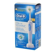 Braun Oral-B Vitality 3D White Rechargeable Electric Toothbrush With 2 Minute Ti by Oral-B [並行輸入品]