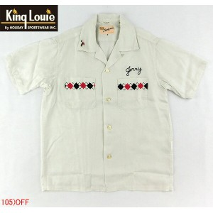 "No.KL36640 KING LOUIE キングルイBOWLING SHIRTS""ARGYLE"""
