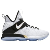 (取寄)Nike ナイキ メンズ レブロン 14 Nike Men's LeBron 14 White Metallic Gold Black
