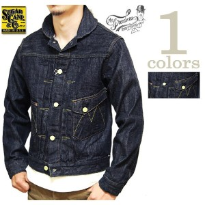 【 SUGAR CANE×Mister Freedom(シュガーケン×ミスターフリーダム) 】 【 12oz. 】 NOS DENIM Ranch Blouse [ Made in U.S.A. ]...