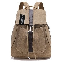 [アメリカ直送] Tibes Canvas Backpack for Women/Girls
