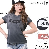 SALE セール 50%OFF レディース 半袖 Tシャツ AFENDS アフェンズ Sunny Future-Standard Fit Tee 50-05-020 EE1 C16