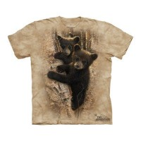 The Mountain Tシャツ Curious Cubs (クマ キッズ 子供用)【輸入品】半袖