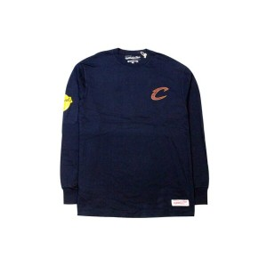 MITCHELL&NESS CLEVELAND CAVALIERS 2016 NBA FINALS L/S T-SHIRTS (NAVY)ミッチェル&ネス/ロングTシャツ/紺