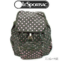 LeSportsac 3 ZIP VOYAGER BACKPACK 2298 P886レスポートサック ボイジャー バックパック、リュックESSENTIAL SUN MULTI GRAVAL C...