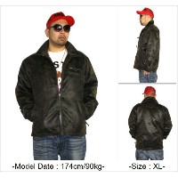 NOTHIN' BUT(ナッシンバット)フェイクレザージャケット カモ柄/迷彩柄NOTHIN' BUT FAKE LEATHER JACKET【送料無料】土日も営業!!【あす楽対応】