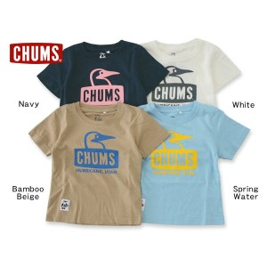CHUMS Kids Booby Face T■CH21-1033【キッズ&ベビー トップス 半袖 Tシャツ ブービーフェース 子供 子ども チャムス 】■4016577