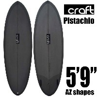 "【10%OFF】ショートボード Craft Pistachio 5'6""ピスタチオ ツインフィン/Hada Craft Surfboard Factory FUTURES【RCP】"