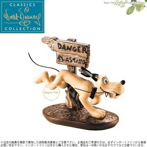 WDCC プルート ダイナマイト 犬 ミッキーの楽器配達 Pluto Dynamite Dog The Delivery Boy □