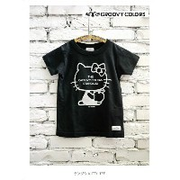 2016 A/W GROOVY COLORS グルービーカラーズ 461テンジク KITTY TEE【100cm~140cm】【2 クロ】