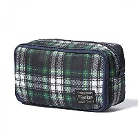 (ヘッド・ポーター) HEADPORTER HIGHLAND GROOMING POUCH GREEN/WHITE