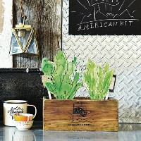 """URBAN GREEN MAKERS ベジタブルキット01""""AMERICAN""""【アーバングリーンメーカーズ】【DIYキット】【栽培キット】【ガーデニング】【ugm】"""