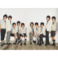 Hey! Say! JUMP・【クリアファイル】 2009 「Hey! Say! JUMP CONCERT TOUR '09春」 コンサート会場販売